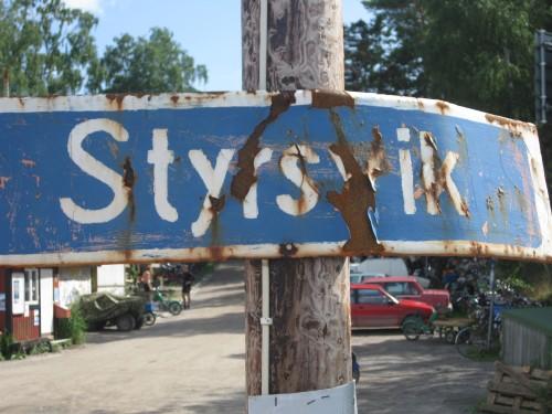 sade 2009 - målgång i Styrsvik